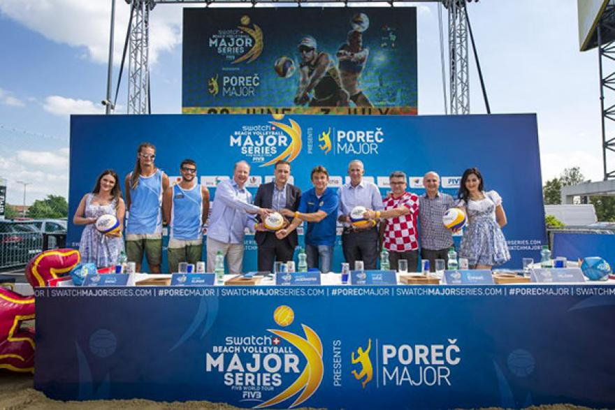 Najavljeno drugo izdanje Swatch Beach Volleyball Major Series u Poreču