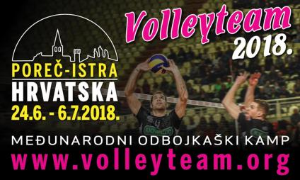 Volleyteam Camp 2018.