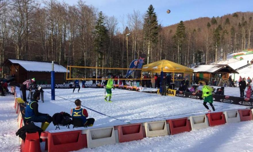 Snow Volley Croatia, Platak 2018.